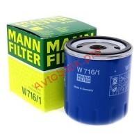 MANN-FILTER W 716/1 Фильтр масляный