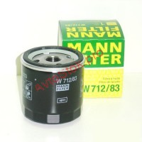 MANN-FILTER W 712/83 Фильтр масляный (пр-во MANN)