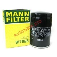 MANN-FILTER W 719/5 Фильтр масляный (пр-во MANN)