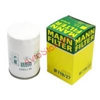 MANN-FILTER W 719/27 Фильтр масляный FORD - TRANSIT