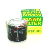 MANN-FILTER W 811/80 Фильтр масляный (пр-во MANN)