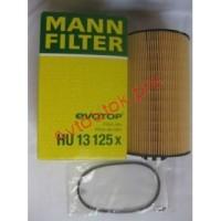 MANN-FILTER HU 13 125 X Фильтрующий элемент масляного фильтра MAN TGA, Neoplan