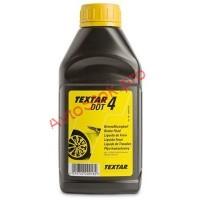 Тормозная жидкость DOT4 TEXTAR 0,5л