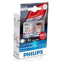 Автолампа Philips 12898RX2 P21W LED