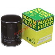 MANN-FILTER W 610/3 Фильтр масляный (пр-во MANN)