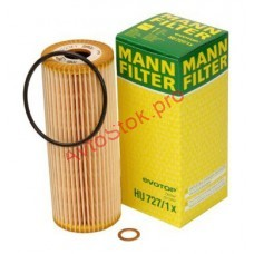 MANN-FILTER HU 727/1 X Фильтрующий элемент масляного фильтра MB - SPRINTER, VITO VW - LT