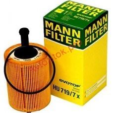 MANN-FILTER HU 719/7 X Фильтрующий элемент масляного фильтра VW - TRANSPORTER T4, T5